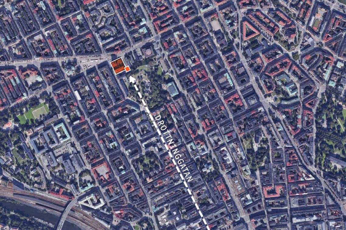 25696718b4f Utveckling av läkarhuset och dess grannkvarter, Odenplan - 2BK ...